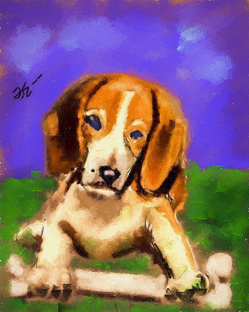 2016 04 16 Beagle Puppy sm
