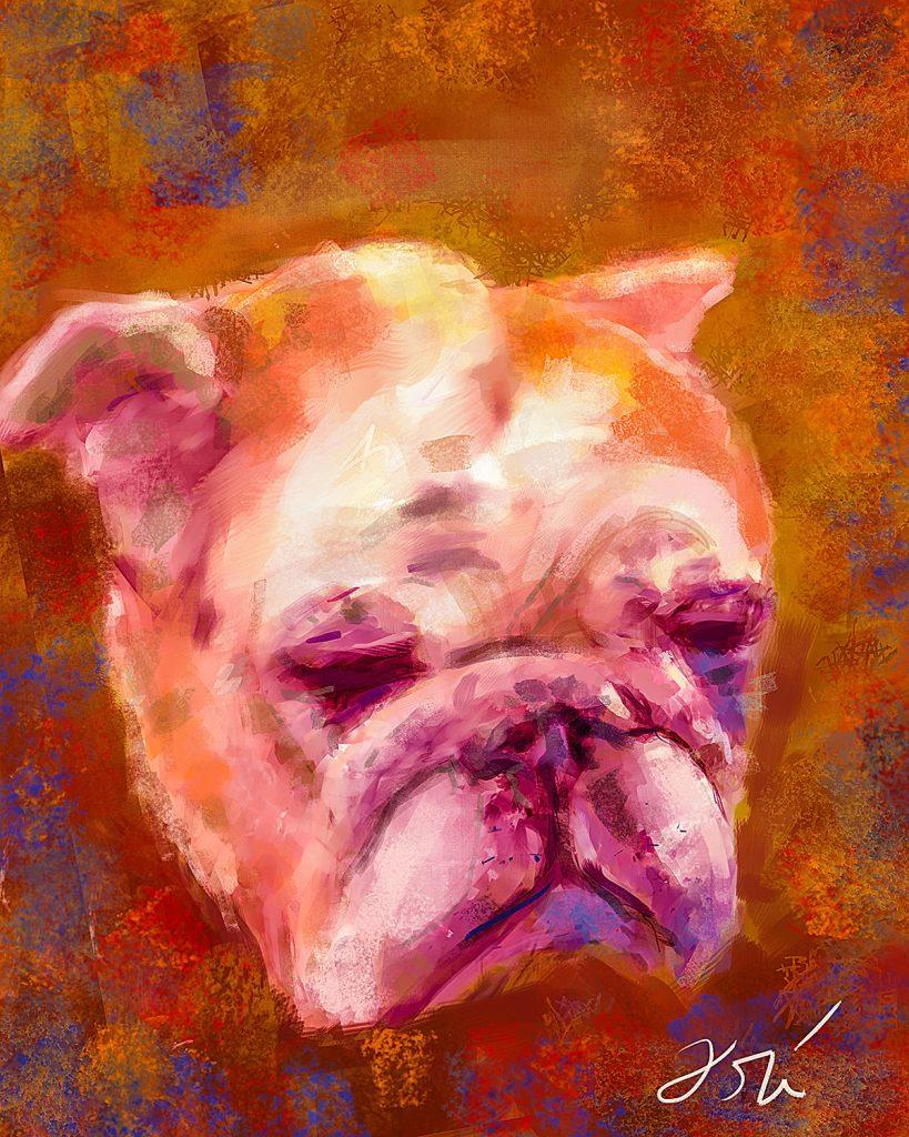 2016 07 12 Kevin Harringtons Layla Bulldog sm